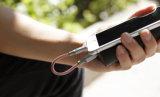 Портативный 15см экранирующая оплетка кабеля USB для iPhone, быстрая зарядка