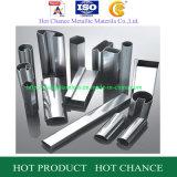 ASTM 201, 304, 304L, 316, cuadrado 316L y tubo rectangular