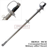 Spada cerimoniale 105cm HK9018 degli ufficiali militari della spada della spada Commanding spagnola