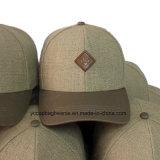 La moda de paja personalizados baratos gorras de béisbol