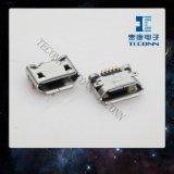 Connecteur micro de récipient de B d'USB 5pin