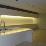 4115 Aluminium extrudé de 60 degrés pour les armoires de cuisine VOYANT LED