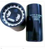 CD60A blauer Shell Wechselstrom-Anfangskondensator elektrolytisch