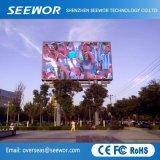 P5.95mm Affichage LED de plein air avec grand angle de visualisation