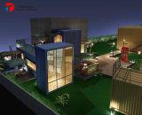 移動可能なホーム、アーキテクチャデザイン容器の家