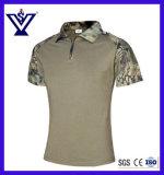 Militär tarnt Frosch-kurzes Hülsen-T-Shirt (SYSG-2010)