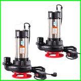 Pompa per acque luride verticale dell'acciaio inossidabile