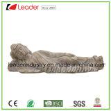 Смолаа Будда лежа вниз орнамент статуй востоковедный для украшения дома и сада