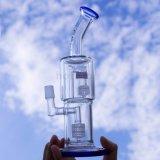 10.6inch高さの新しいガラス煙る管のロゴプリント