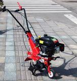 L'essence 6 HP à petit cultivateur de la machine de scarificateur Jardin Mini cultivateur rotatif de timon