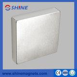 Обработанный никелем квадратный магнит неодимия