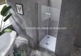 ヒンジが付いているシャワー機構のドア