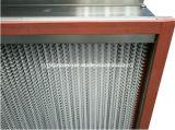 De stijve Filter van de Cel HEPA voor Op hoge temperatuur (HT)