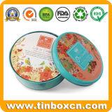 Modificado para requisitos particulares alrededor de la poder de estaño del metal del caramelo de los dulces para el rectángulo de regalo
