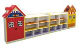 Módulo de móveis de madeira Prateleira Kids para crianças de prateleira de Role Play