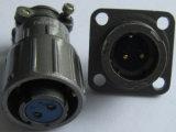 Kleine Bajonett-Kupplung-Rundsteckverbinder