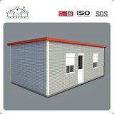 Casa móvil prefabricada del envase de los paneles de emparedado del precio de fábrica para la venta