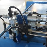 máquina de dobragem de aço ângulo dobradeira manual, máquina de dobragem de chapas de aço, prensa hidráulica máquina de dobragem