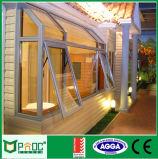 Finestra di alluminio della tenda con il vetro di standard dell'Australia