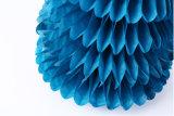 Papel de seda personalizada decoración partido central