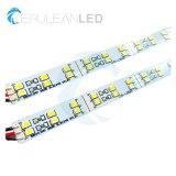SMD2835 144LEDs doppelter steifer Streifen der Reihen-DC12V DC24V LED