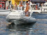 Liya 5.8m nervure en fibre de verre de luxe Bateau Bateau de pêche en PRF
