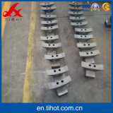 中国の鋳物場からのふしの鋳鉄の機械で造られた部品