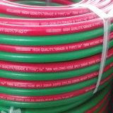 BS En559 mangueira da soldadura do gêmeo de 1/4 de polegada vermelha & verde