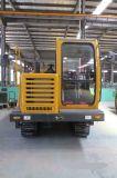 De nieuwe Kipwagen van de Vrachtwagen van Duper van het Spoor van de Kipwagen van het Kruippakje Rubber