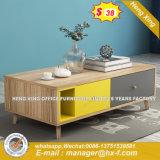 Tavolo di riunione di congresso di vetro Tempered del piedino del metallo di rettangolo /Desk (HX-GL051)