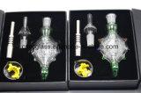 2017 Uitrusting 5.0 van de Collectoren van de Nectar van de Pijpen van het glas met 14mm/18mm de pijp van de SCHAR
