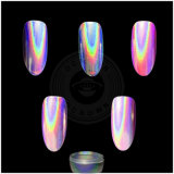 De Holografische Regenboog van de eenhoorn Geen Poeder van het Pigment van het Chroom van de Spiegel van Holo van het Gel