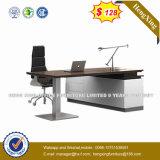 Color de caoba L escritorio de oficina de encargado de la dimensión de una variable (HX-8N1081)