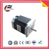 Motor elétrico do piso liso de 1.8deg NEMA24 60*60mm para máquinas do CNC