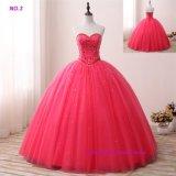 Rose rouge robe de bal robe Quinceanera Sweetheart