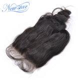 I capelli ricci allentati indiani 4X4 di qualità all'ingrosso liberano le chiusure del merletto della parte
