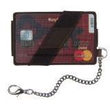 Bifold RFID для деловых поездок держателя карты из натуральной кожи бумажник Biker Wallet