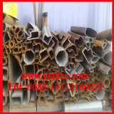 Sección del tubo de acero al carbono ( Q235 A36 St37 Q345 A106 GRB)