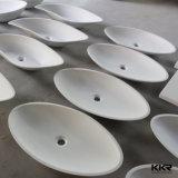 Lavabo italiano di superficie solido acrilico di disegno del controsoffitto