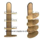Acier inoxydable & Metal & Wooden & Affichage de la courroie d'acrylique support de rack