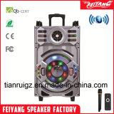 트롤리를 가진 12 인치 재충전용 큰 힘 Lound 휴대용 Bluetooth 스피커---F12-21