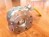 Flansch-Kugelventil des Form-Stahl-Einteiler-1PC integrales