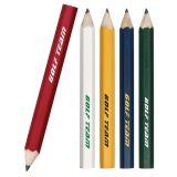 Crayon en bois bon marché fait sur commande de couleur de logo