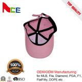 Бейсбольная кепка оптовых изготовленный на заказ детей пробела промотирования конструктора розовая пустая