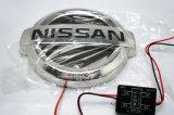 emblema posteriore di 4D LED/posteriore chiaro di marchio LED dell'automobile per Tiida