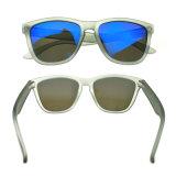 Оптовая торговля Китая большой ручной работы на заводе очки Яркие солнечные очки объектива наружного зеркала заднего вида