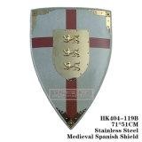 Escudos medievais enforcamentos na Parede 71*51cm HK404-119UM/HK404-119b