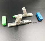 Conector rápido para fibra óptica de LAN (Local Area Network)