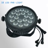 18*18W 6in1 LED 동위 점화 RGBWA UV LED