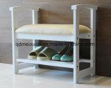 Pé de madeira sólida parasitológico de fezes moderna sala de estar nas fezes (M-X2540)